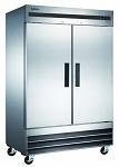 Commercial 2 Door Reach-In Freezer