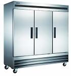 Commercial 3 Door Reach-In Freezer