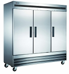 Commercial 3 Door Reach-In Refrigerator