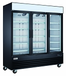Commercial 3 Glass Door Merchandiser Refrigerator